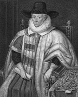 Thomas Egerton, 1st Viscount Brackley, 1540 - 1617, an English nobleman, judge and statesman,