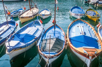 Wooden boats in Nice