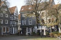 Historical Buildings, Churchplace, Hattingen, Germ