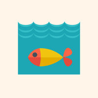 Fish Flat Icon