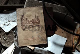 altes Schulbuch