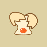 Egg. Food Flat Icon