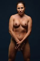 Beautiful athletic naked woman