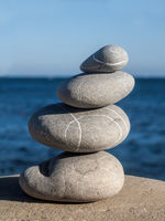 pebbles tower zen