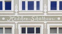 Bad Toelz girl schoolhouse