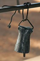 Forged cow bell