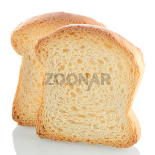 Golden brown toast
