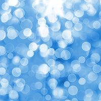 Abstract blue background with blur bokeh for design
