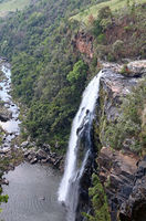 Lisbon falls at Panorama route in South Africa