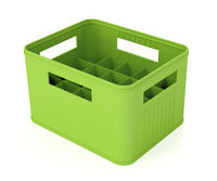 Green beer crate