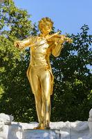 Johann Strauss Denkmal - Wien