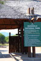 entrance to Marakele National Park, South Africa