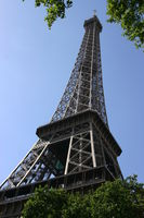 Eiffel Tower at Paris from the ground
