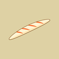 Bread. Food Flat Icon