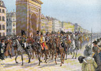 Capitulation of Paris on 31 March 1814, German Wars of Liberation