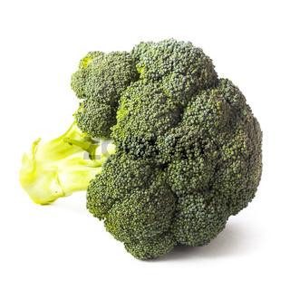 Green broccoli isolated