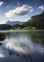 Lake Haldensee, Tannheimer Tal, Austria