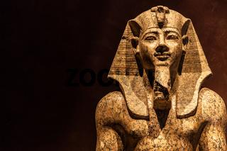 Pharaoh statue
