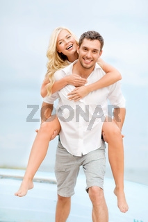 couple at seaside