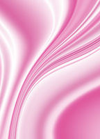 Curved flowing lines and rays on a pink gradient b