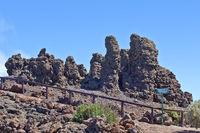 mountain top of Roque de Los Muchachos