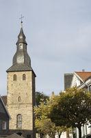 Bell Tower of the Johannischurch in Hattingen, Ger