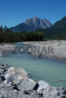 Lechtal, Lech, Naturpark Lech,
