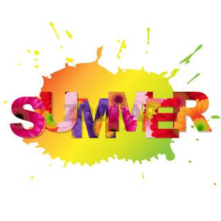 Color Gerbers Summer Poster