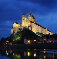 Melk bei Nacht - Melk by night 02