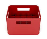 Plastic beer crate