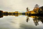 Naturschutzgebiet, Fischweiher Rehlingen, Saarland, Deutschland