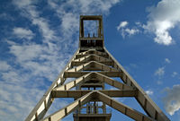 Shaft Tower, Goettelborn, Saarland, Germany