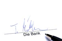 Signature of the Bank