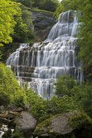 L'Eventail Waterfall, Menetrux-en-Joux, France