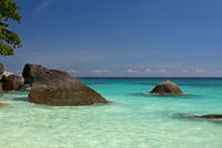 coast of the Similan Islands, Thailand