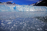 Mighty glacier near Valdez
