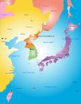 Korea peninsula