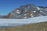 Plaine Morte plateau glacier, Bernese Alps