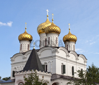 Cupola of Trinity Cathedral in Ipatiev monastery