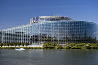 European Parliament building, Strasbourg, France