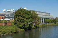 Sitz des deutsch-französischen Fernsehsenders ARTE
