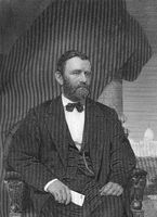 Ulysses Simpson Grant, 1822 - 1885, the 18th President of the United States