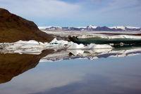 Glacierlagoon in Iceland