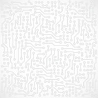 Light gray square abstract electronic background