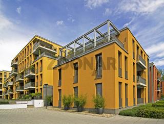Gebäude am Seerhein in Konstanz
