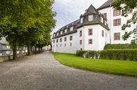 Castle berleburg, Park Bad Berleburg, Wittgenstein