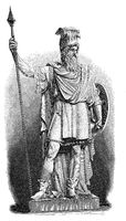 Statue of Odin,  Germanic and Norse mythology
