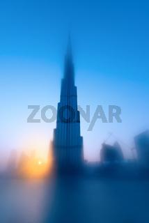 Burj Khalifa is the tallest skyscraper in the world