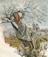 almond tree in Sicily