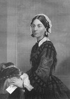 Florence Nightingale, 1820 - 1910, an English social reformer